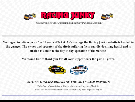 Auto Racing Statistics on Description   Sports  Motorsports  Auto Racing  Organizations   Racing