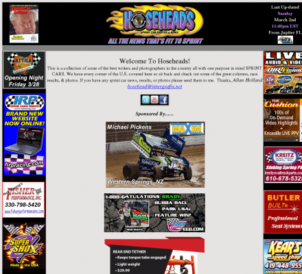 Sports Motorsports Auto Racing Drivers on Sports  Motorsports  Auto Racing  Sprint Cars   Hosehead S Sprint Car