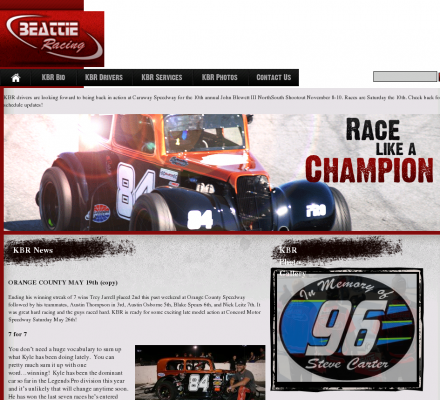 Sports Motorsports Auto Racing Drivers on Sports  Motorsports  Auto Racing  Stock Cars   Beattie Racing