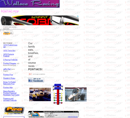 Sports Motorsports Auto Racing Chats  Forums on Sports  Motorsports  Auto Racing  Drag Racing   Wallace Racing  Home