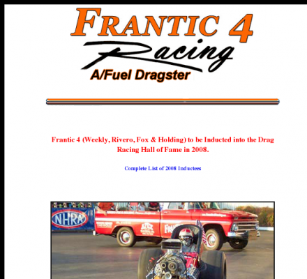 History Auto Racing Motorsports on Sports  Motorsports  Auto Racing  Drag Racing   Frantic 4 Racing  354