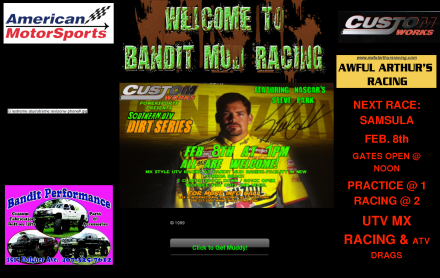 Sports Motorsports Auto Racing  Racing on Sports  Motorsports  Auto Racing  Mud Racing   Bandit Mud Racing