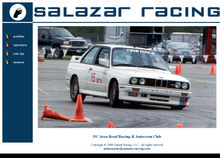 Area Auto Racing News on Auto Racing  Autocross   Salazar Racing  Racing In The Washington