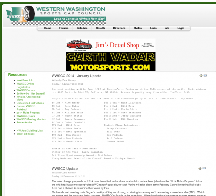 Washington Auto Racing on Sports  Motorsports  Auto Racing  Clubs   Western Washington