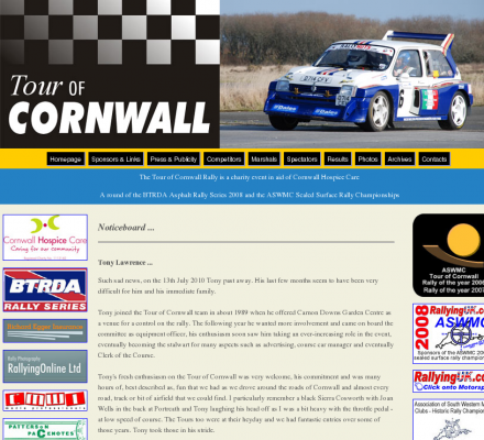 Sports Motorsports Auto Racing Rallying South America on Tour Cornwall Rally   Motorsport Car Rallying