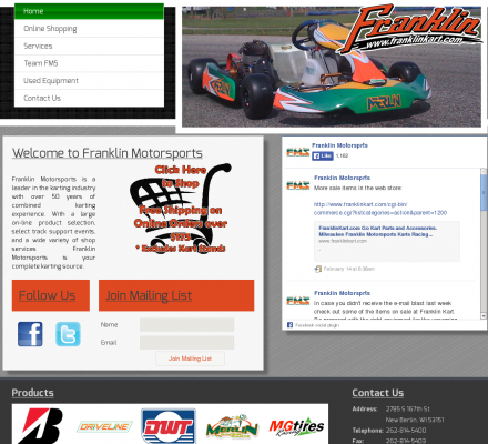Shopping Sports Motorsports Auto Racing Parts  on Shopping  Sports  Motorsports  Auto Racing   Franklin Motor Sports