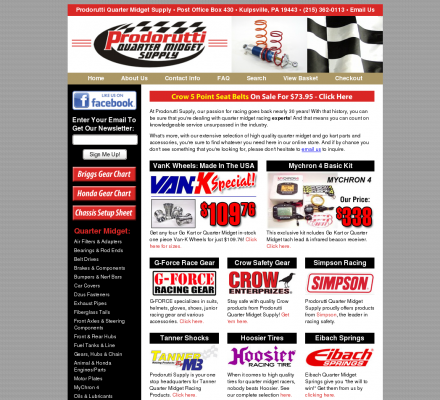 Shopping Sports Motorsports Auto Racing Parts  on Shopping  Sports  Motorsports  Auto Racing   Quarter Midget Parts