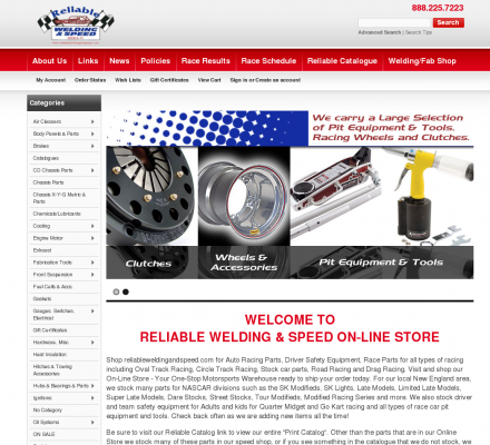 Auto Racing Equipment on Welding And Speed   Auto Racing Parts And Equipment  Safety Equipment