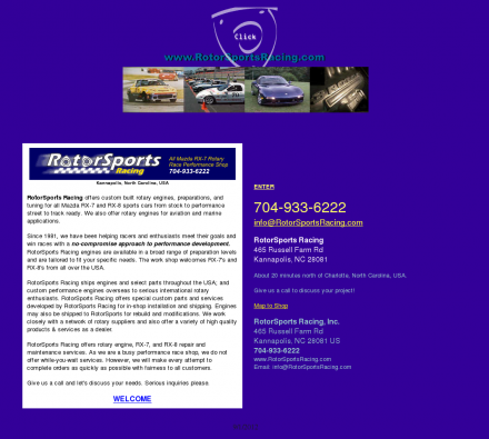 Recreation Collecting Sports Auto Racing on Recreation  Autos  Makes And Models  Mazda   Rotor Sport Racing
