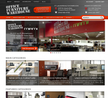 Office Furniture Warehouse for new and used office furniture ...