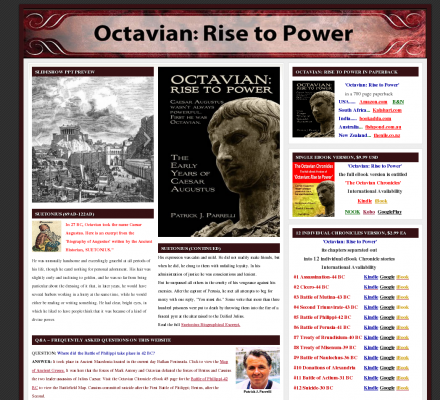 the life and rise to power of augustus caesar Octavian: rise to power: the early years of caesar augustus 45 out of 5 based on 0 ratings 2 reviews.