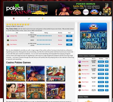 Manufacturers of pokies or slots machines.