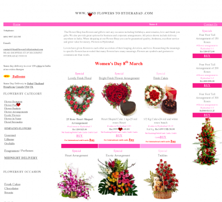 Send Flowers To Hyderabad - Send