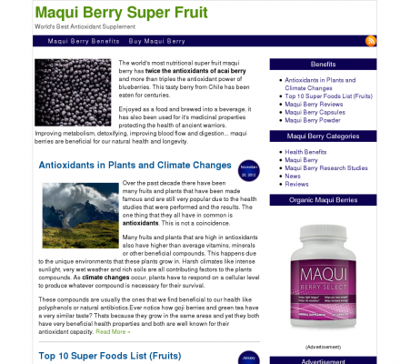Maqui Berry The Latest Discovery From South America Maqui Berry
