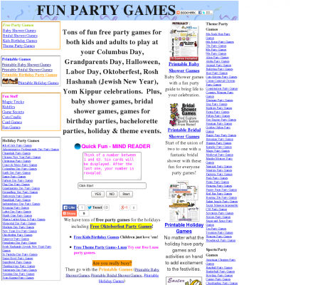 description tons of fun free party games for both kids and adults to play at your columbus day grandparents day halloween labor day oktoberfest