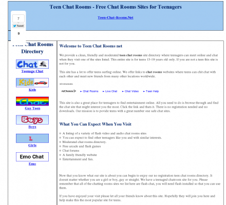 Little meadows chat rooms