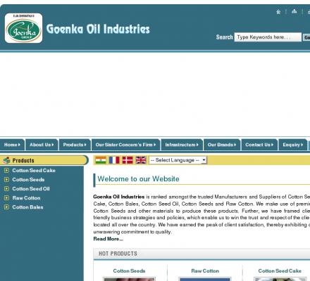 Goenka Oil Industries: Raw Cotton Manufacturer Maharashtra