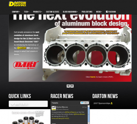 Careers  Auto Racing Industry on Manufactures Cylinder Sleeves And Liners For The Racing Industry