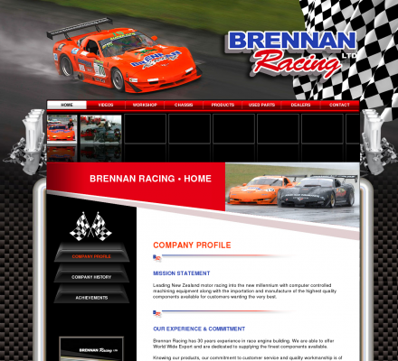 Auto Racing Equipment on Auto Racing   Brennan Racing  Manufacturers Specialty Equipment
